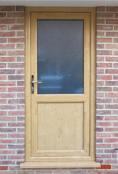 timber alternative front and back doors timber
