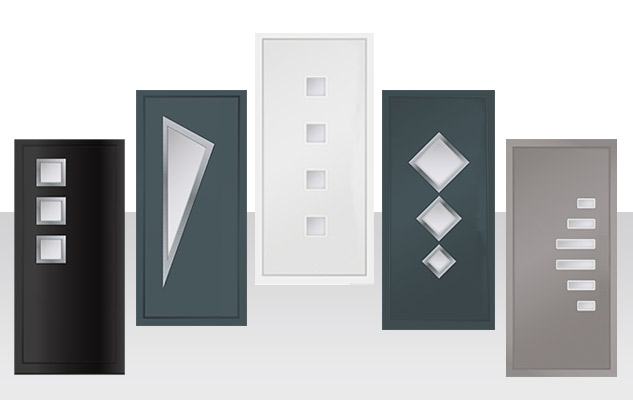 summit aluminium designer door