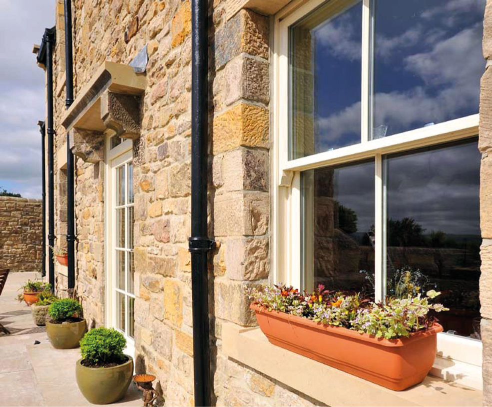 Vertical Sliding Sash Timber Windows - Cords and Weights  bracknell