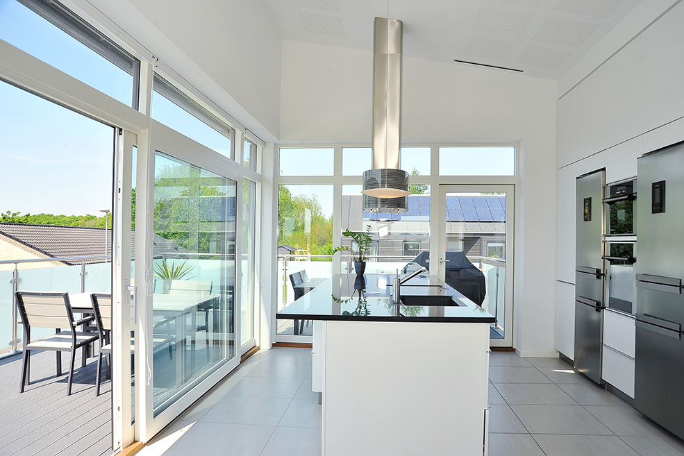 Timber lift and slide Doors Worcester, Worcestershire