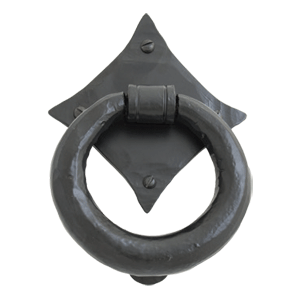 Ring Knocker Black