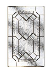 Simplicity Zinc Long Glass Design