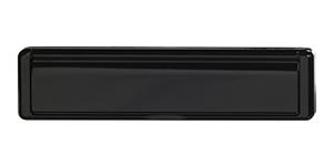 Standard Letterbox in black