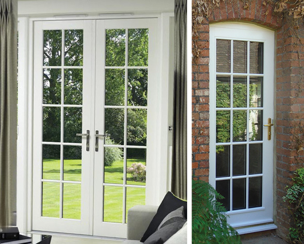 Stormproof French Timber Doors Guildford, Surrey