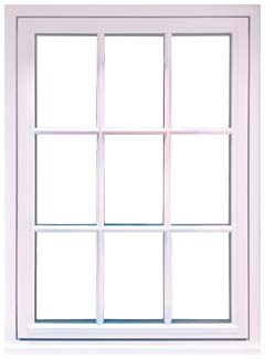 Flush Windows Design