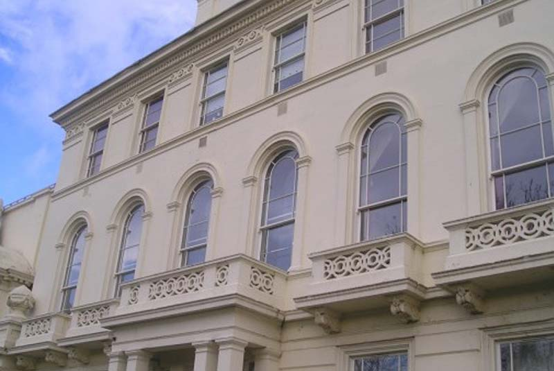 Spiral Balance Timber Windows Cardiff, South Wales