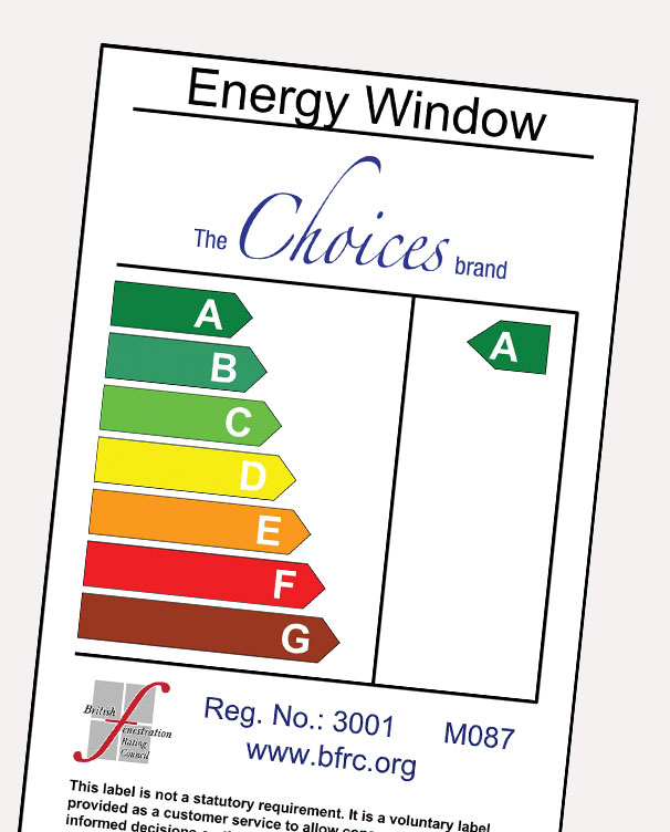 A Energy Rated certificate