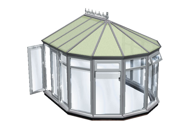 choices full height panels conservatory