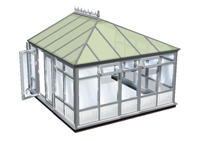 choices full height with panels conservatory