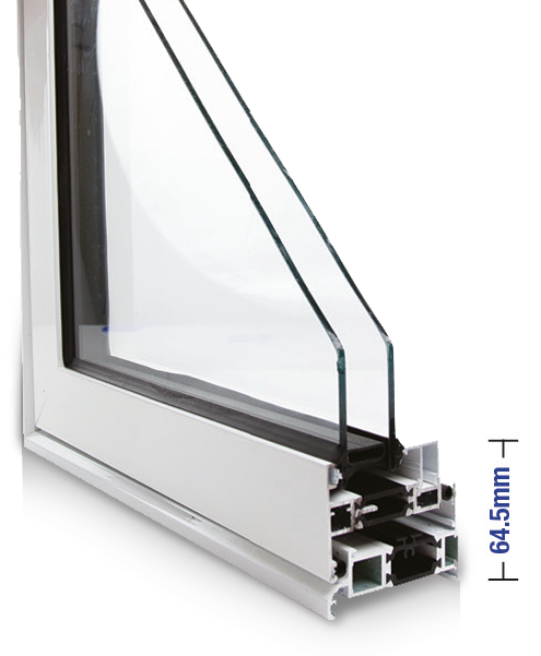 contemporary flat sash