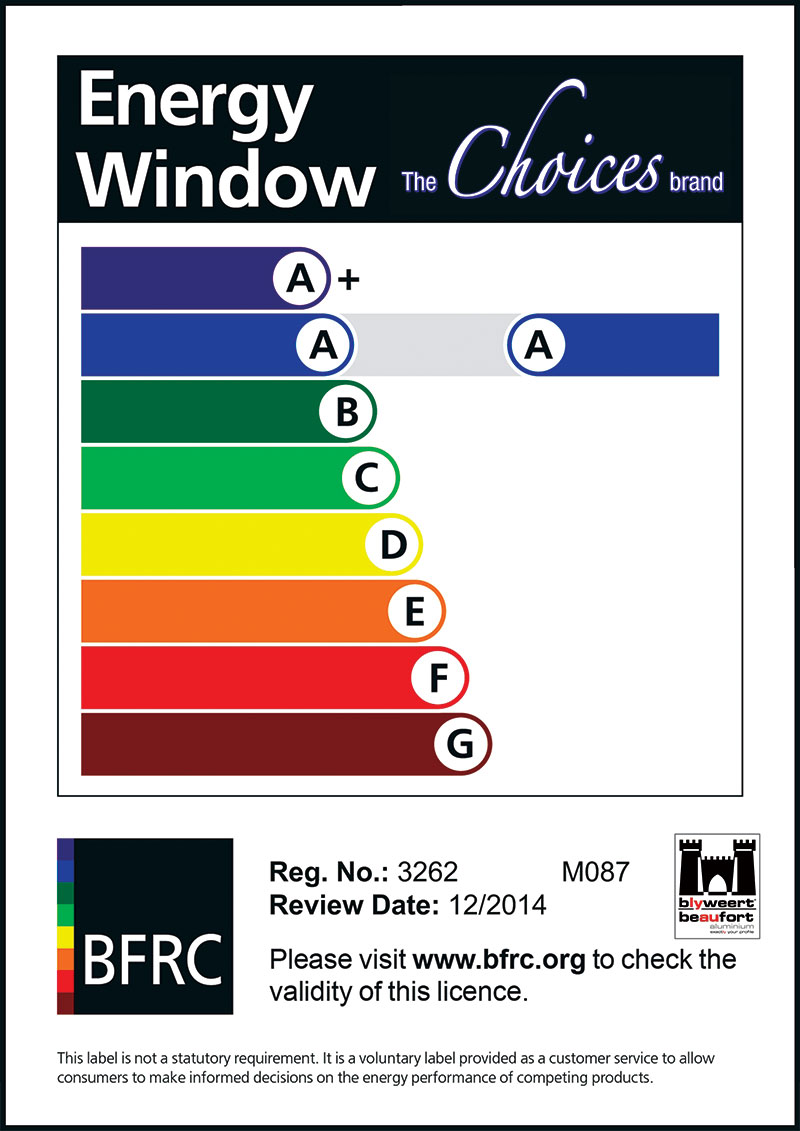 choices energy certificate