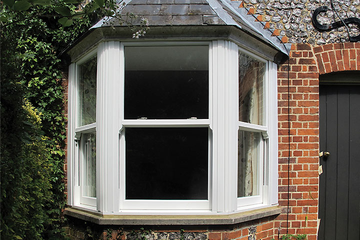 vertical sliding windows kent