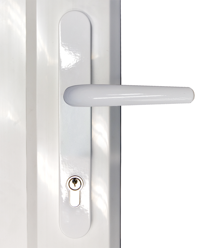 choices door lever lever handle from AJ Windows and Doors