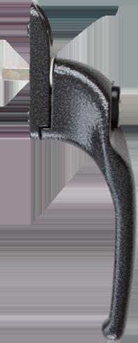 traditional antique black cranked handle from Aran J Frain