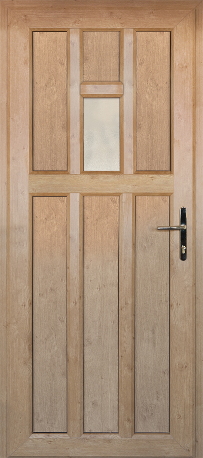 timber alternative single back door bracknell