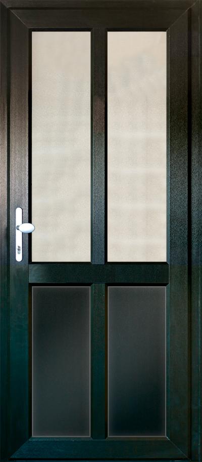 timber alternative single back door bracknell