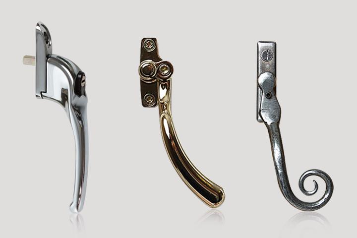 window handles from BMW Home Improvements Ltd