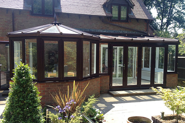 p-shaped conservatories surrey