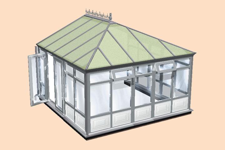 conservatory frame styles buckingham