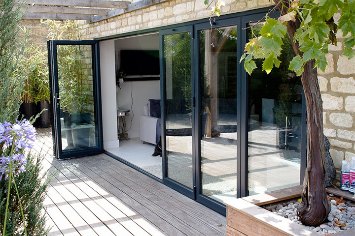 bi folding-doors cambridgeshire