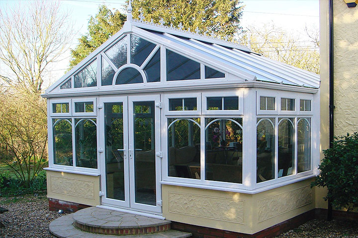 gable end conservatories stafford