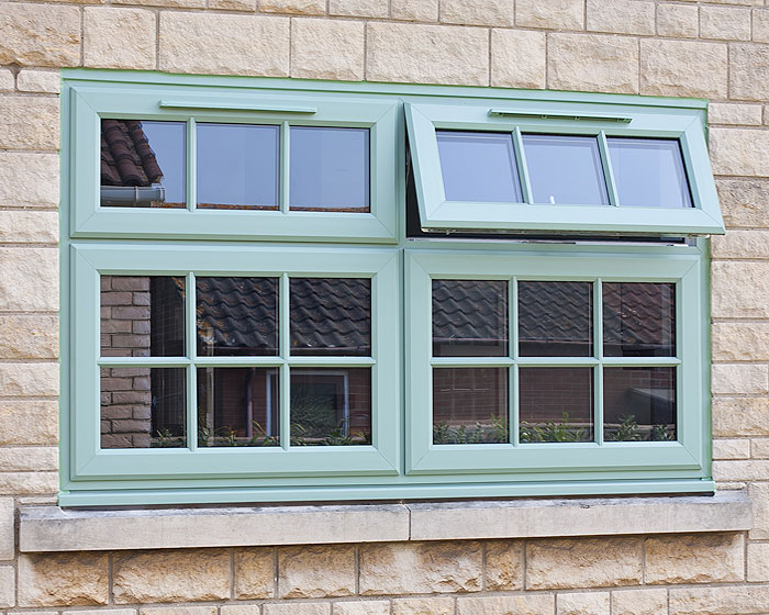 chartwell green from Choices Glazing Solutions