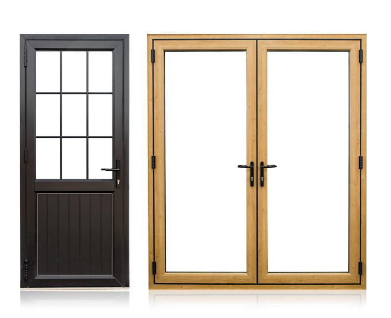 imagine single double doors oundle