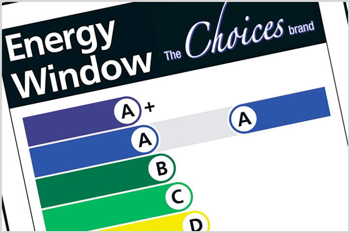 energy rated windows doors from De Rosa Installations Ltd
