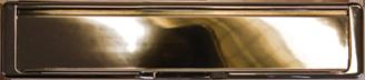 hardex gold premium letterbox from Fairmitre Windows & Conservatories