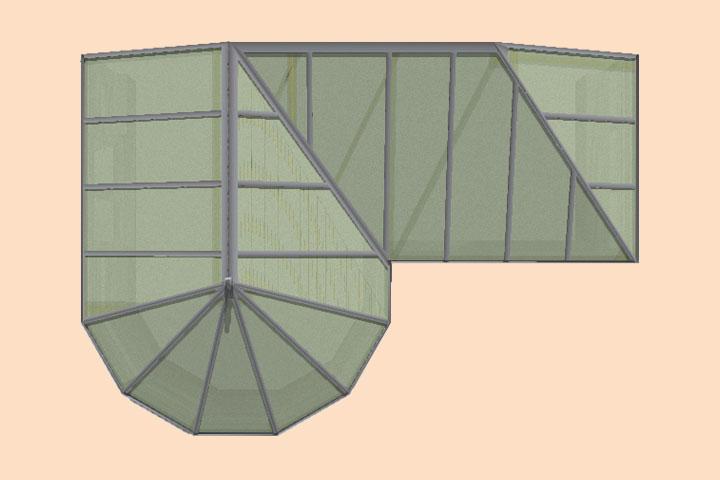 conservatory shapes grantham
