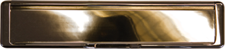 hardex gold premium letterbox from Hall Glazing Ltd
