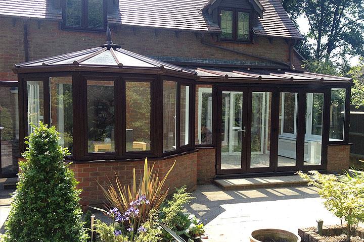 p-shaped conservatories bishop-stortford