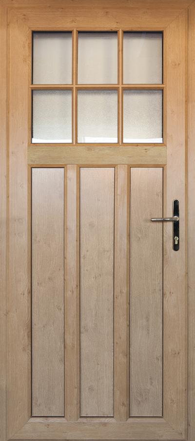 timber alternative single front door redditch
