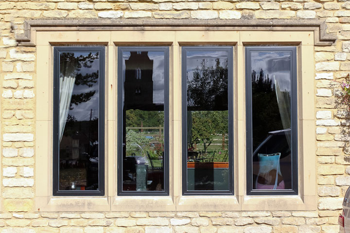 aluminium windows farnborough