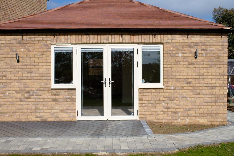 Aluminium Single And French Doors Woking Guildford And Farnborough