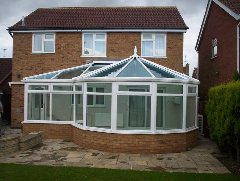 P Shaped Conservatories Perth Conservatories And