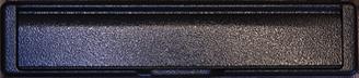 antique black premium letterbox from Milestone Windows, Doors & Conservatories