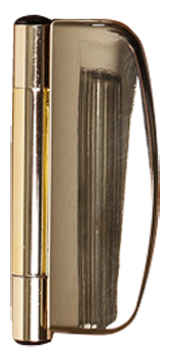 choices gold effect dynamic hinges from Milestone Windows, Doors & Conservatories