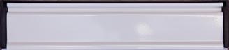 white letterbox from Milestone Windows, Doors & Conservatories