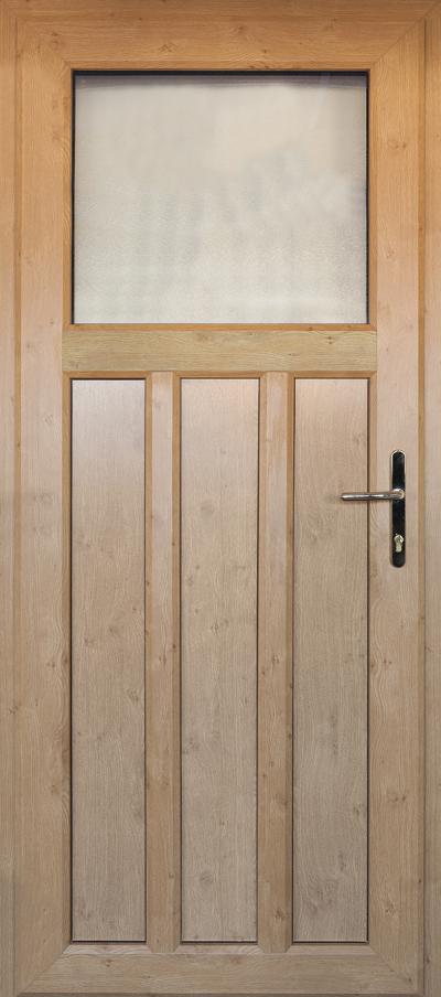 timber alternative single front door stevenage