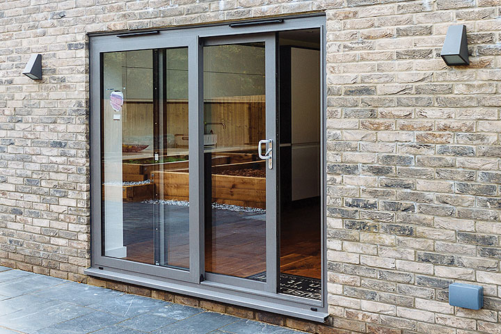 aluminium patio sliding doors leicestershire