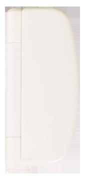 choices cream dynamic hinges from P.R windows Ltd