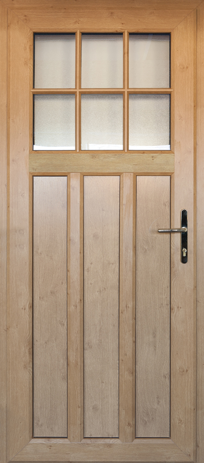 timber alternative single front door telford