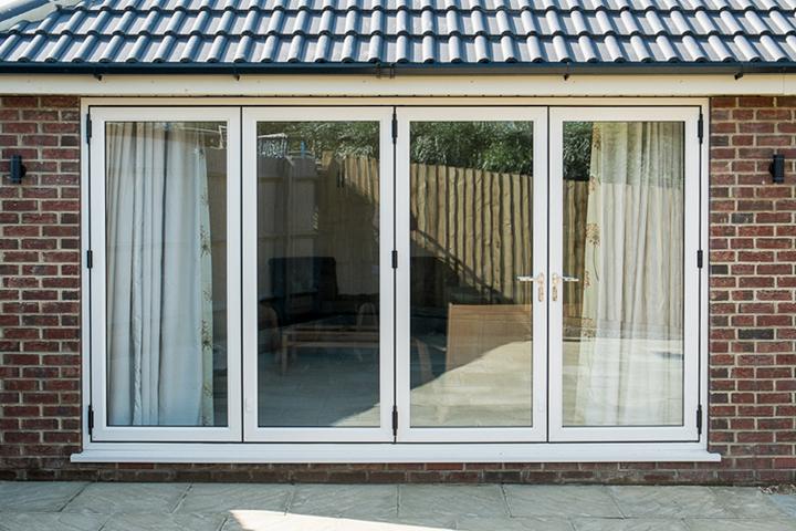 upvc multifolding doors gloucestershire