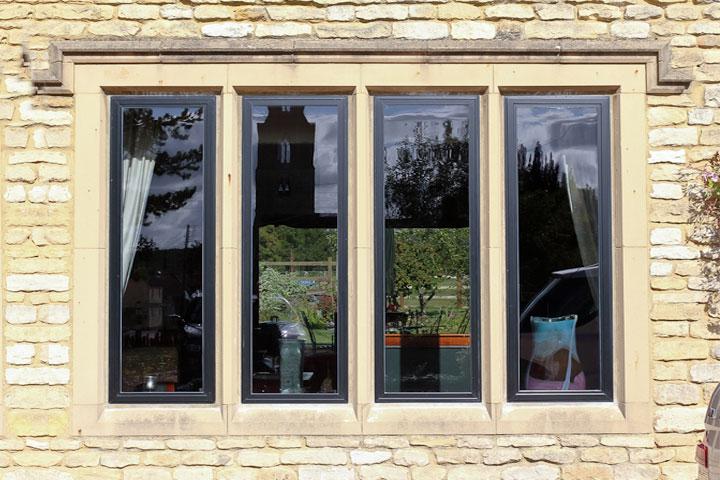 aluminium windows sandwich
