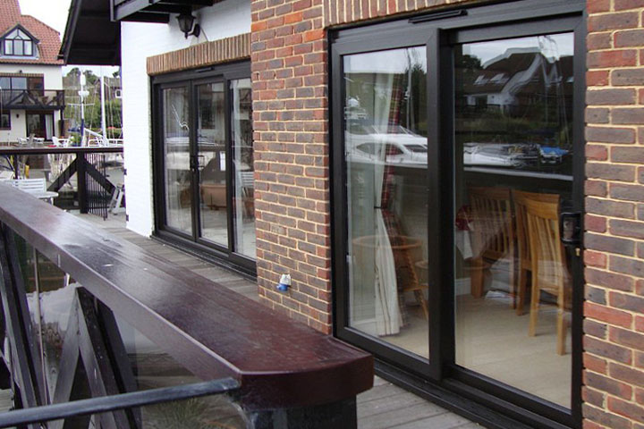 patio sliding doors sandwich