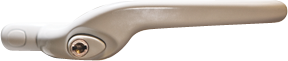 traditional cranked handle from Sandwich Glass Ltd