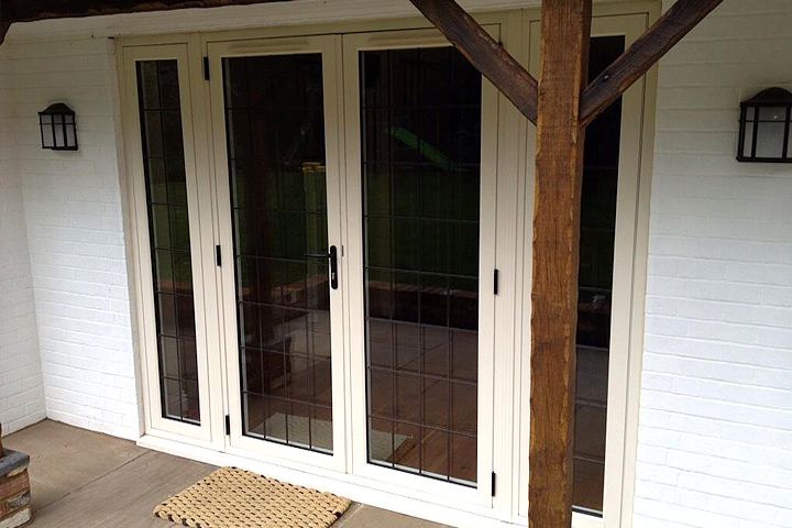 timber alternative french doors shropshire