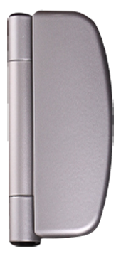 choices brushed chrome dynamic hinges from Choices Glazing Solutions