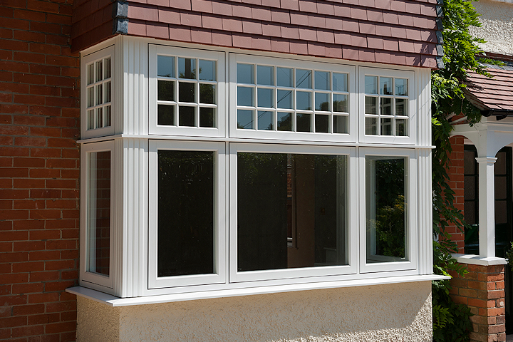 bay bow windows corby
